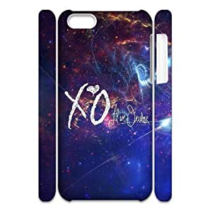 HXYHTY Customized 3D case The Weeknd XO for iPhone 5C