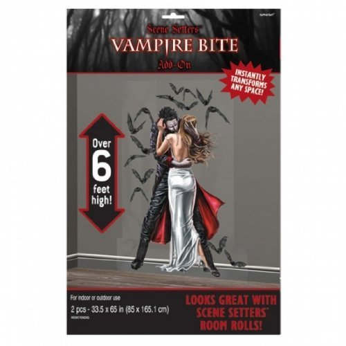 6ft Vampire Bite Halloween Decoration (Best Vampire Bite Scenes)