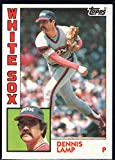 Baseball MLB 1984 Topps #541 Dennis Lamp White Sox