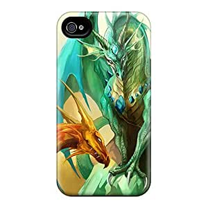 High-quality Durability Case For Iphone 4/4s(dragons)