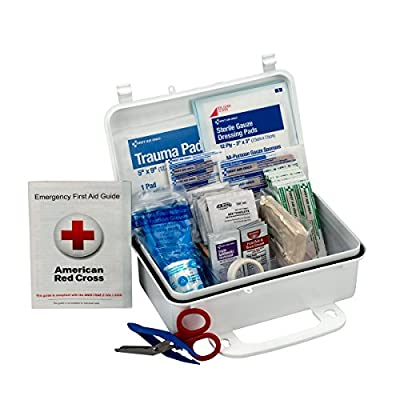 First Aid Only 10 Person First Aid Kit, Weatherproof Plastic Case from First Aid Only 10