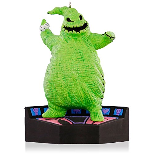 1 X Disney Tim Burton's The Nightmare Before Christmas - Oogie Boogie Halloween Ornament 2015 -