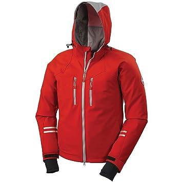 canada goose trenton jacket men s red mid grey medium amazon ca rh amazon ca