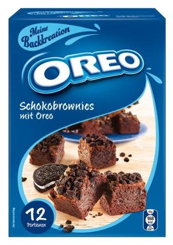 Oreo Schokobrownies Backmischung 325 G 3er Pack 3 X 325 G
