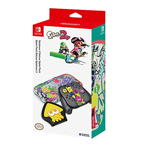 HORI Splatoon 2 Deluxe Splat Pack with Squid Trigger Grip Officially Licensed - Nintendo Switch