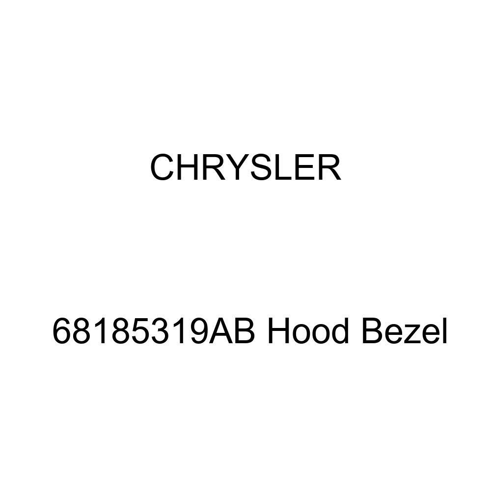 Genuine Chrysler 68185319AB Hood Bezel