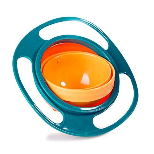 Aomeiter Gyro Bowl- Spill Resistant Kids Gyroscopic Bowl ...