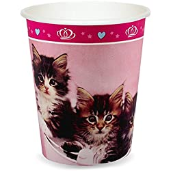 Rachael Hale Glamour Cats Party Supplies - 9 oz. Cups (8)