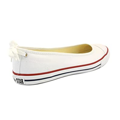60d6758a5334 Converse Chuck Taylor Lo Dainty Slip 537093C Womens Canvas Slip On  Balllerinas White - 6  Amazon.co.uk  Shoes   Bags
