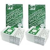 Numatic Henry Hetty etc Hepa Flo Vacuum Cleaner Dust Bags (Pack of 20)