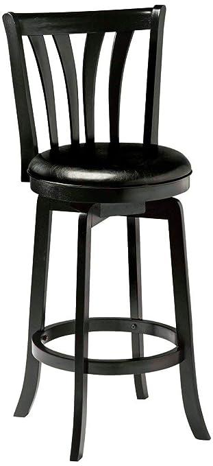 Excellent Hillsdale Savana Swivel Counter Stool Black Creativecarmelina Interior Chair Design Creativecarmelinacom
