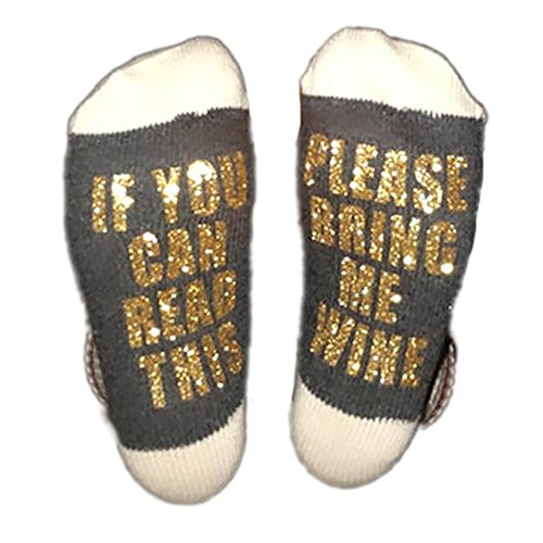 Best Gift Christmas Socks Baby Avengers Lulu Christmas Gift For Lover Mom And Father If You Can Read This Funny Cotton Socks Gold Gray Free Size
