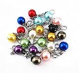 Yueton 20pcs Colorful Pearl Dangle Charms Pendant - Best Reviews Guide