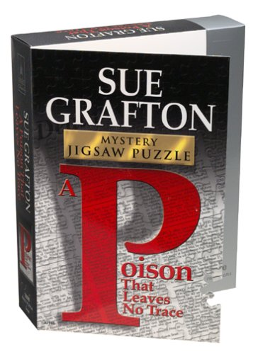 Author Classic Mystery Jigsaw Puzzle - Sue Grafton
