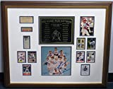 500 Home Run Hitters Signed Framed Display Ruth/Foxx/Mantle/Ott #1 - PSA/DNA Certified - Autographed MLB Photos