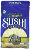 Lundberg Organic Sushi Rice, California White, 16 Ounce (Pack of 6)