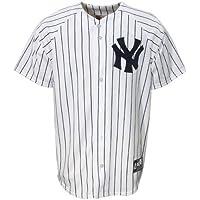 MLB Baseball Trikot/Jersey NEW YORK NY YANKEES - white in S (SMALL)