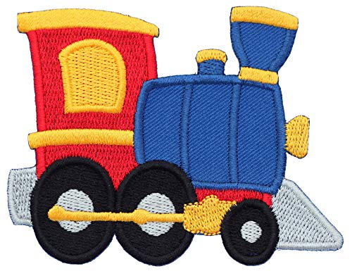 PatchMommy Iron On Patch, Train - Appliques for Kids ()