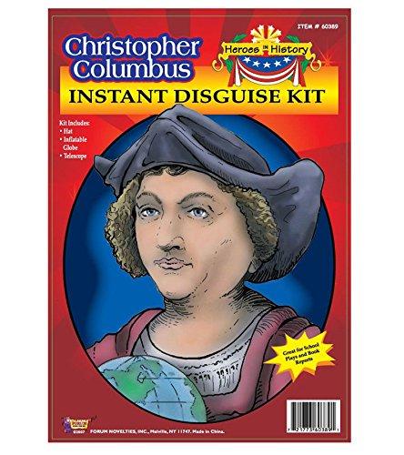 F60389/195 (School Project Kit) Christopher Columbus (Kids Christopher Columbus Costume Kit)