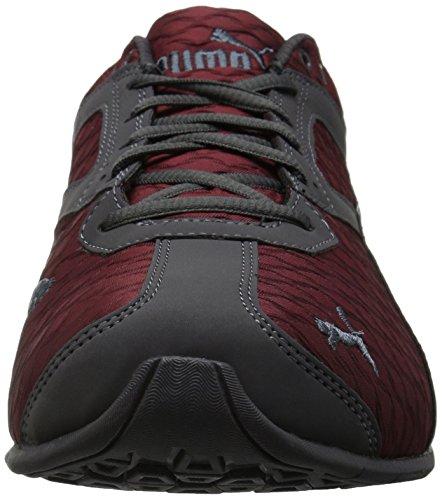 Puma Mens Tazon 6 3d Sneaker Rosso Dalia-asfalto