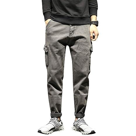 Weentop - Pantalones Vaqueros para Hombre, Vaquero, 31 ...