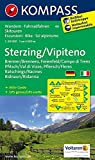 Carta escursionistica n. 44. Vipiteno-Sterzing. Adatto a GPS. Digital map. DVD-ROM: Wandelkaart 1:50 000