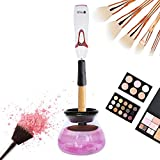 Makeup Brush Cleaner by Beautify Beauties, Best Cleaner for Makeup Brushes, Washes and Dries Brushes Instantly - Batteries Included
