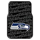 Seahawks OFFICIAL National Football League, 25.5 x 17.5 Car Floor Mat Set (Pair of 2)