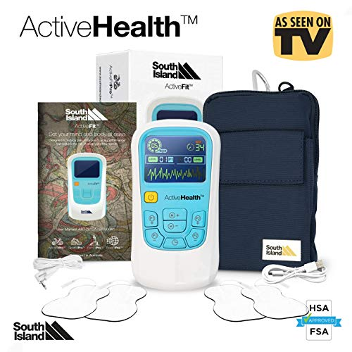 Portable 2020 TENS Machine and EMS Muscle Stimulator Combines TENS and EMS AS an Electro Therapy Device for Pain, Relief, Arthritis Pain Relief, Neck Pain, Back Pain, Sciatica, and Sport OUTCOMES
