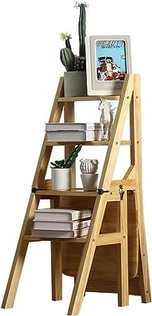 YF-Barstool Escalera Convertible Silla Biblioteca Cocina Escalera Multifuncional Taburete Capacidad de Carga 330 lbs 36.5X46.5X90cm: Amazon.es: Hogar