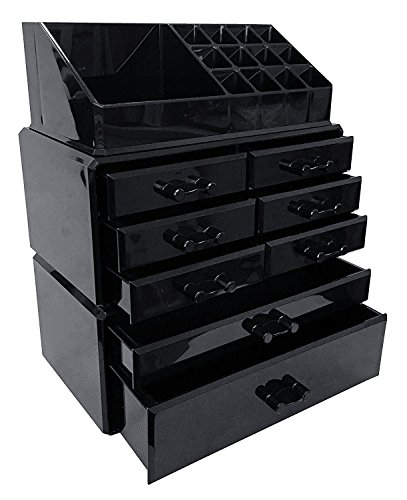 Large Black Storage Box - 7