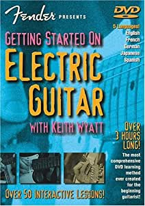 Fender Presents: Getting started on Electric Guitar (DVD). Para Guitarra