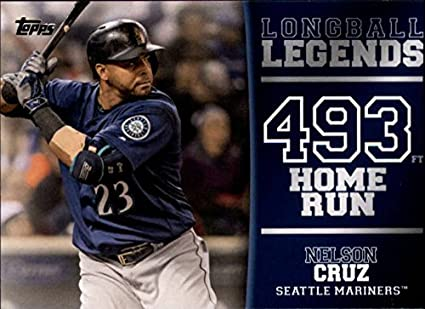 0c94109fb1 2018 Topps Longball Legends #LL-29 Nelson Cruz Seattle Mariners Baseball  Card