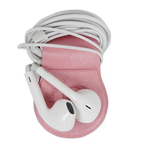Hermitshell Headphone Wrap Magnetic Earphone In-ear Earbud Cord Organizer Clip for Bose AKG Audio-technica Jaybird Panasonic JVC Brainwavz Beats Apple Samsung Musicians Sport Runner Outdoor - Sunglasses Computer Wearing In Front Of