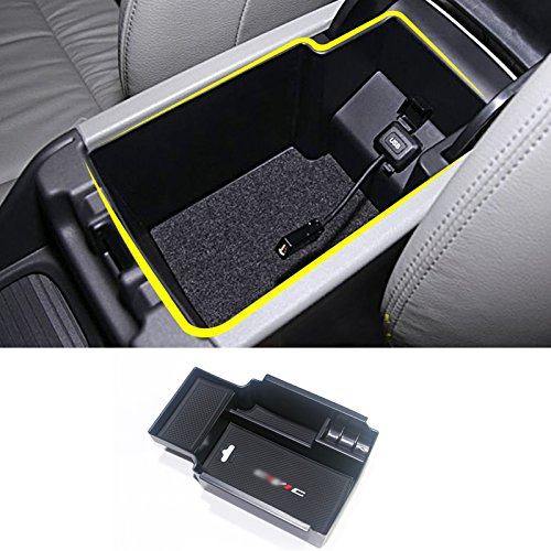 HIGH FLYING Central Console Storage Armrest Glove Box Organizer Container For Honda Civic Sedan 2012-2015