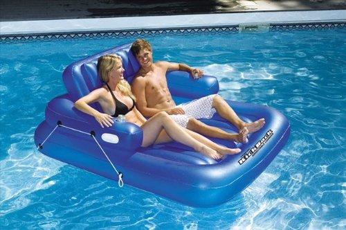 Swimline Kick Back Adjustable Lounger