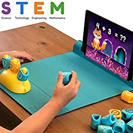 Shifu Plugo Count – Math Game with Stories & Puzzles – Ages 5-10 – STEM Toy | Augmented Reality Based Cool Math Games for Boys & Girls (App Based)