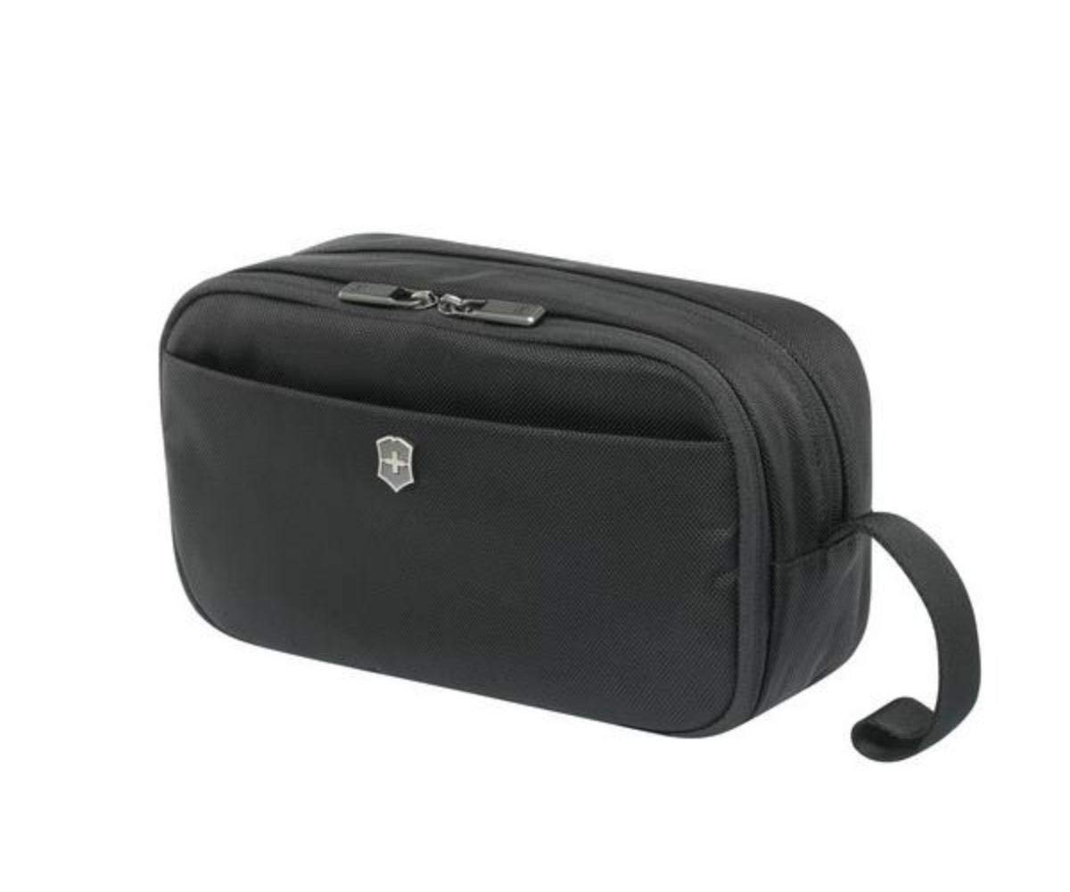 Victorinox Werks Traveler 6.0 Travel Toiletry Bag, Black