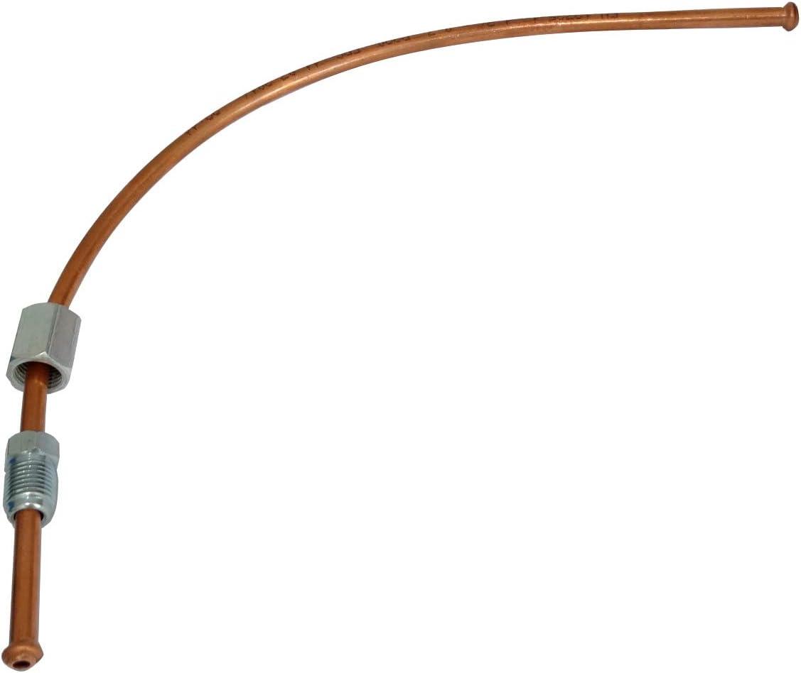 Tubo per freno in rame /Ø4.76mm con raccordi F10x1//M10x1 30cm AERZETIX