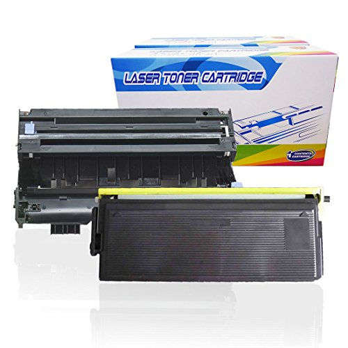 Inktoneram Compatible Toner Cartridge & Drum Replacement for Brother TN570 TN540 DR510 DR-510 TN-570 TN-540 DCP-8040 DCP-8040D DCP-8045D HL-5100 HL-5130 HL-5140 HL-5150D HL-5150DLT (Drum,Toner,2PK)