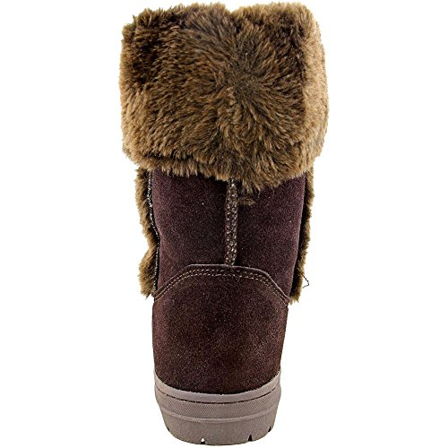 Womens Boots amp; Style Dark Co Suede Witty Brown Snow qtxTwn