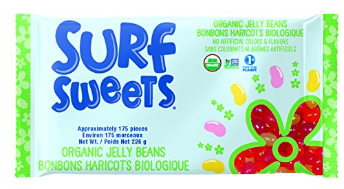 Surf Sweets Spring Mix Organic Jelly Beans, 8-Ounce (Pack of 3)