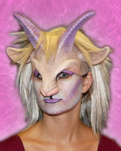 (Goat'ress Half Mask Headpiece)