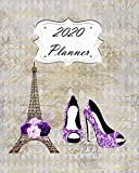 2020 Planner: Paris Daily, Weekly & Monthly