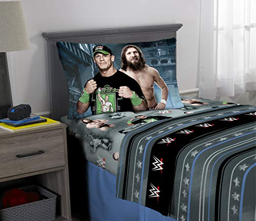 WWE Industrial Strength Twin Sheet Set