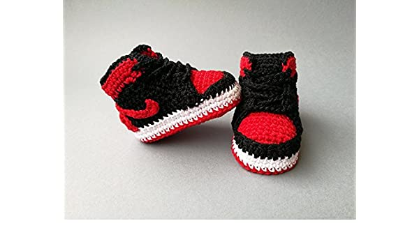 buy online 9bdbd b62b1 Amazon.com  Crochet Pattern baby Air Jordan, baby sneakers eBook ...