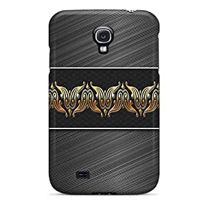 Snap-on Case Designed For Galaxy S4- Abstract Art