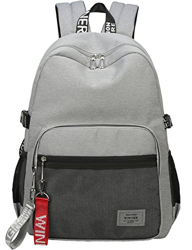 Classic Backpack Haversack Travel School Bag Student Simple