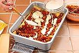 12.7-inch Lasagna Baking Pan Set of 2, P&P CHEF