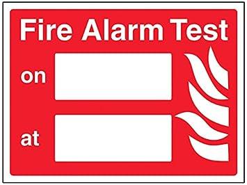vsafety 13045 AR-S equipo de prueba de alarma de incendios ...